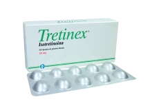 Isotretinoina //TRETINEX 20MG CJ X 30 CAP GYNOPHARM ISOTRETINOINA