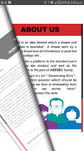 e-magazine screenshot
