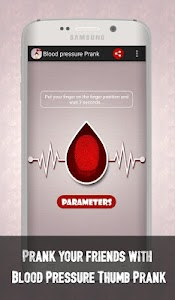 Blood Pressure Thumb Prank screenshot 2