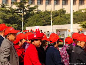 Photo: #012-Les chinois se rendent au Mausolée de Mao Zedong