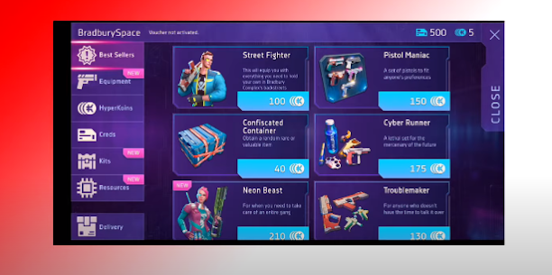 Cyberika Hack HyperKoins Creds Cheat Android IOS Apk Mod 4