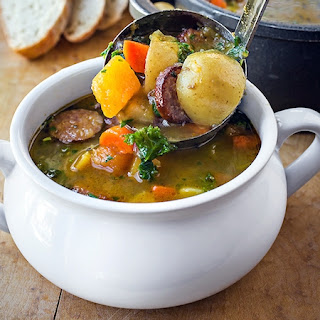 Harvest Stew with Smoked Sausage