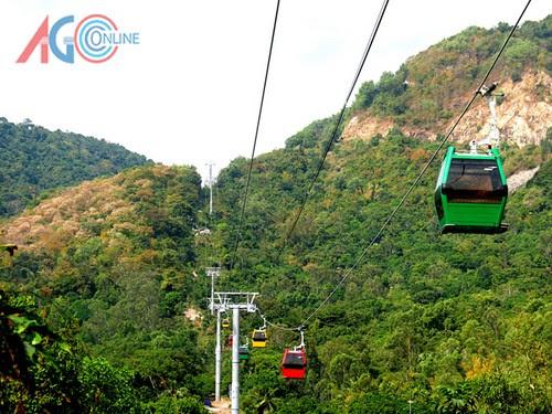Khu du lịch Núi Cấm đến hẹn tháng Giêng 6