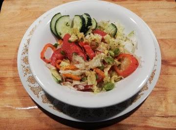 Fresh Salad,great For A B-b-q  W/friends(no Mayo) Recipe