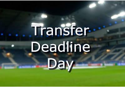 Overzicht van alle buitenlandse transfers: done deals (=groen) en geruchten (=rood)