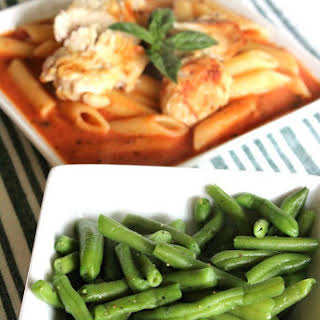 Quick and Fancy Green Beans.