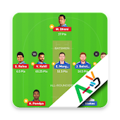 Fantasy Team for #Dream11 with VideoTeam