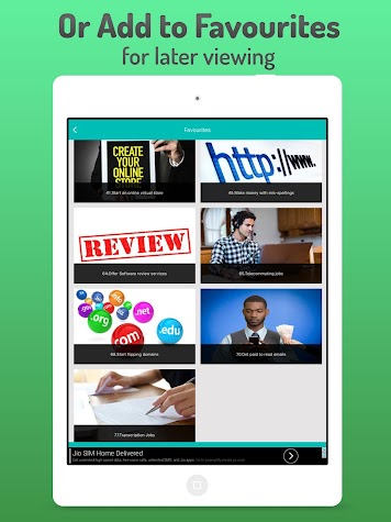 Make money free - Work at home & online jobs Screenshot