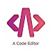 Acode editor and web IDE (code & HTML editor) icon