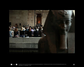 Photo: Sound And Silence: 'Remembering Sept. 11' At The Temple Of Dendur.   Metropolitan Museum of Art. Upper East Side, New York City.  View full textual explanation for this image here:  https://plus.google.com/108527329601014444443/posts/hi3aZjEBP9a