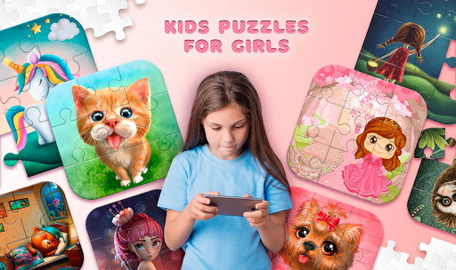 Kids Puzzles for Girls apkbreak screenshots 1