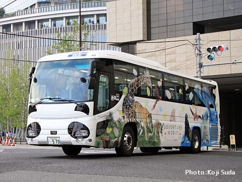 明光バス「パンダ白浜エクスプレス181号」 外観_01