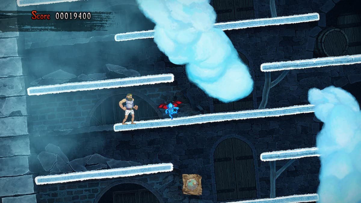 Ghosts 'n Goblins Resurrection Crystalline City Bee 4