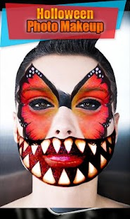 Scary Halloween  Makeup   & Scary Face Makeup - náhled
