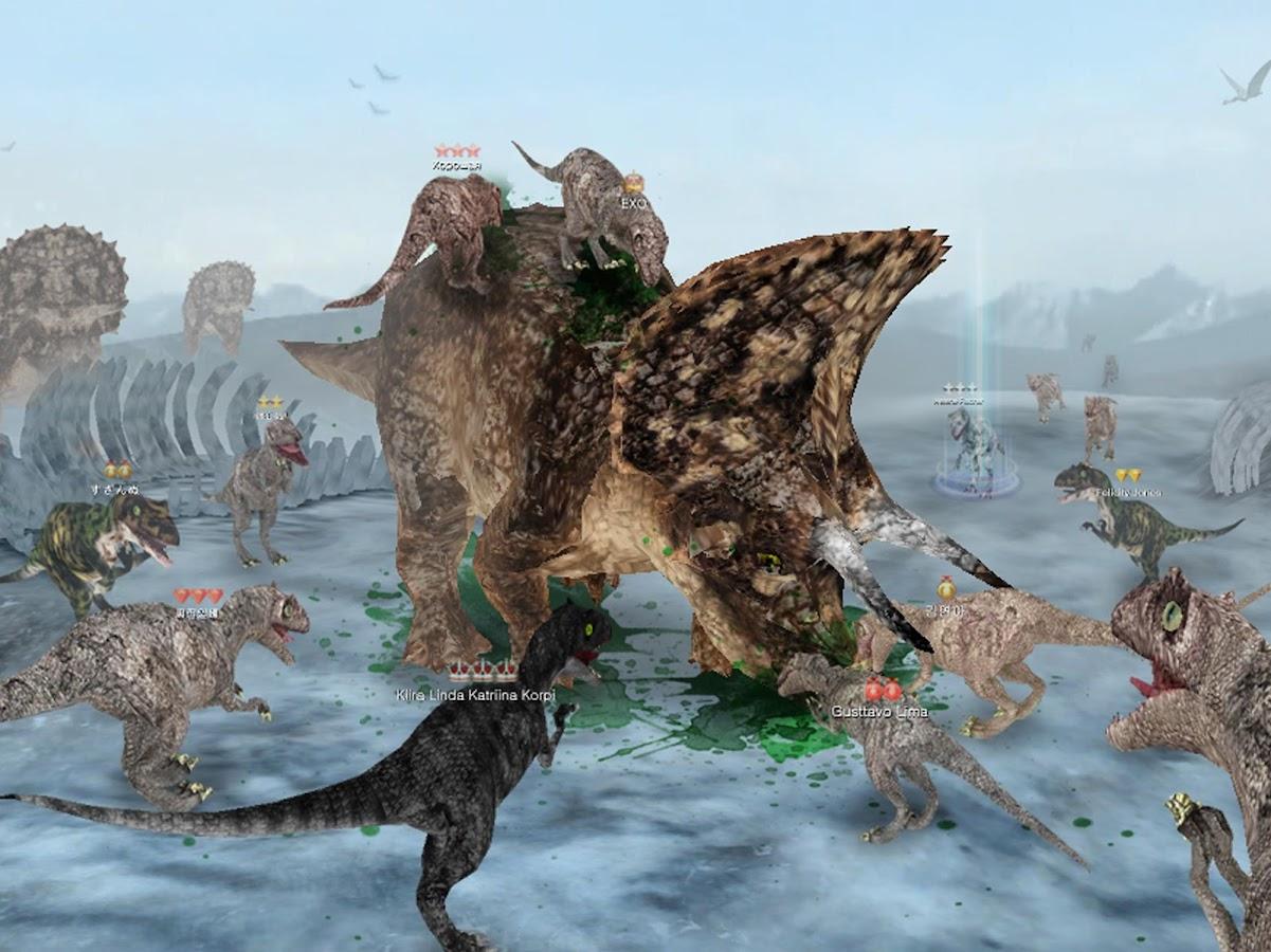 Red color code wolf online - Dinos Online Screenshot