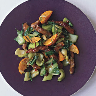 Pork Tenderloin Stir-Fry with Tangerines and Chili Sauce Recipe