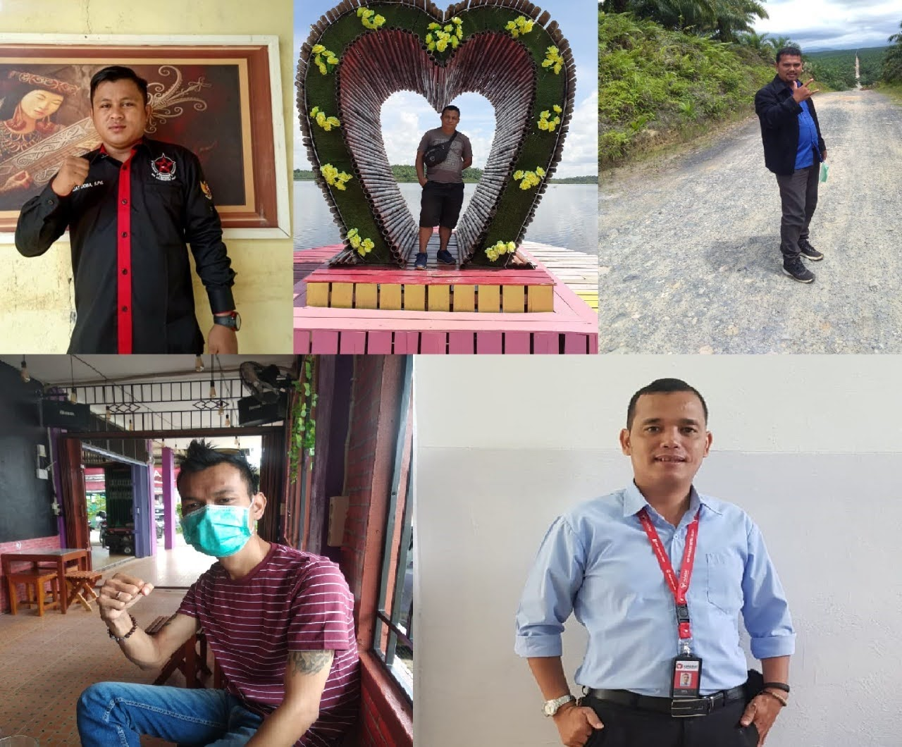 Lima Putra OKB Siap Berkompetisi di Pilkades Desa Nanga Biabasan – Sekadau