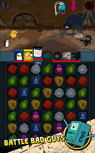 Adventure Time Puzzle Quest v1.3 APK Mod (Unlimited Money) - screenshot