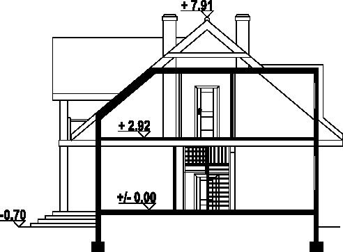 Chmielniki dw27 - Przekrój