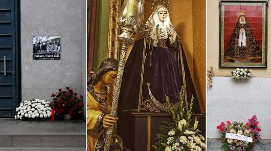 Flores para Caridad, Entierro y Soledad en Viernes Santo