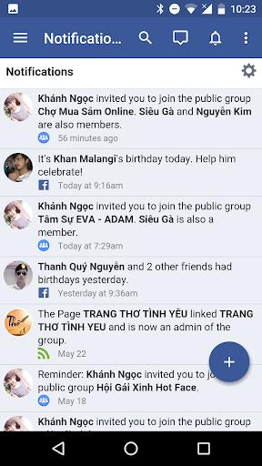 Messenger for Facebook 1.06052018 screenshots 10