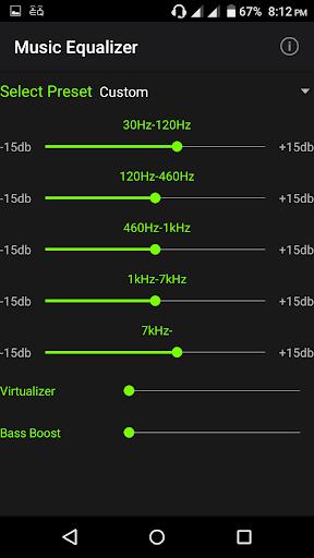 Music Equalizer 1.3.6 screenshots 1