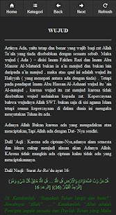 Sifat Allah Dan Rosul screenshot