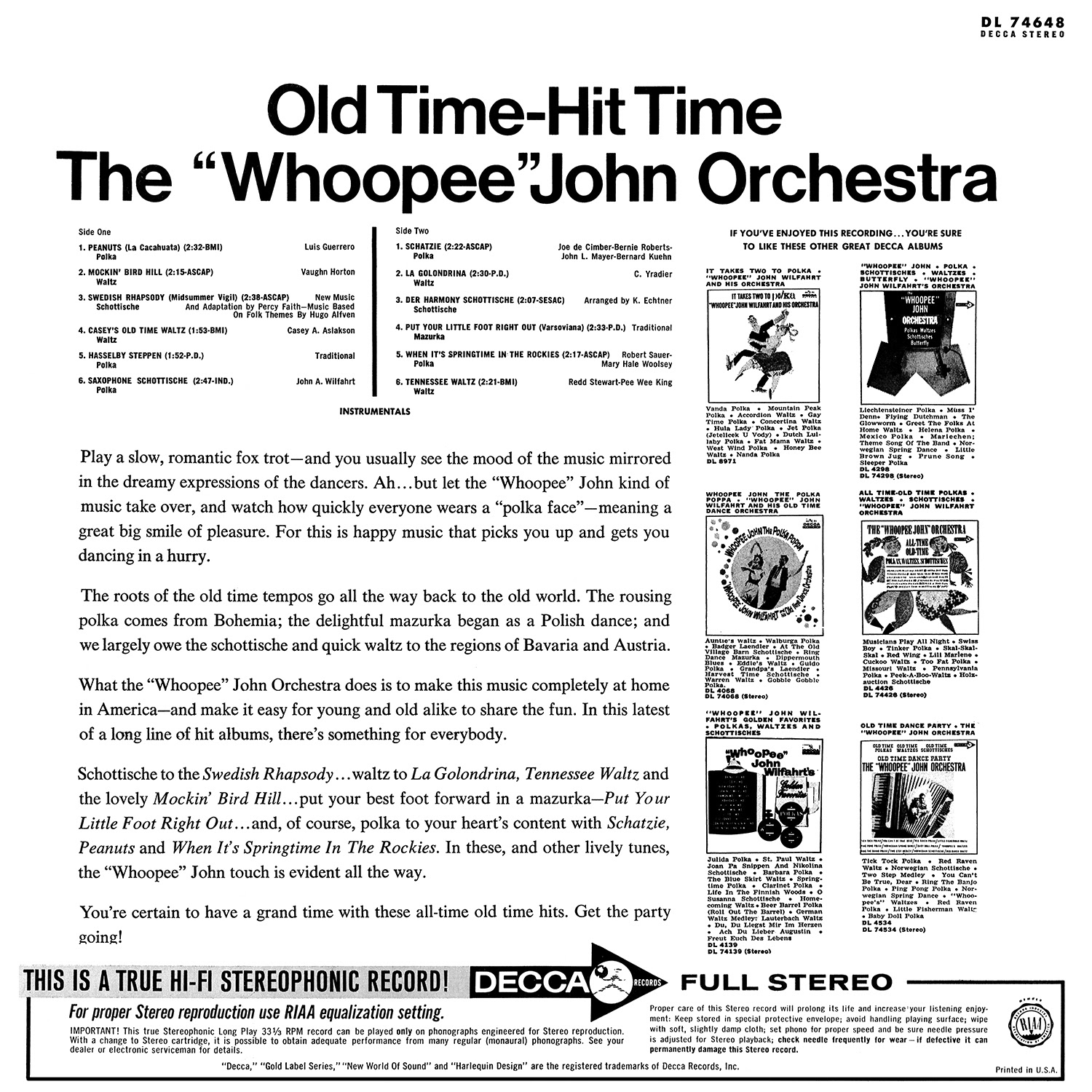 The Whoopee John Orchestra