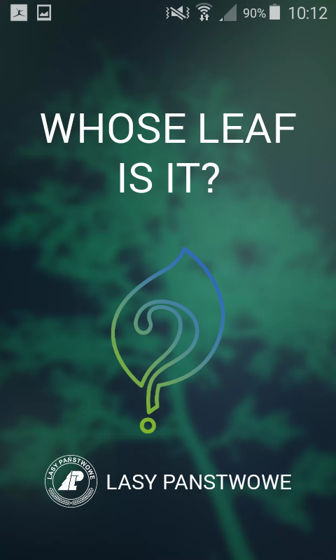 Whose leaf is it?- screenshot