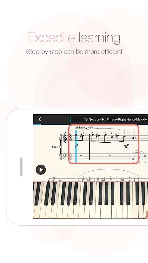 The ONE Smart Piano- screenshot