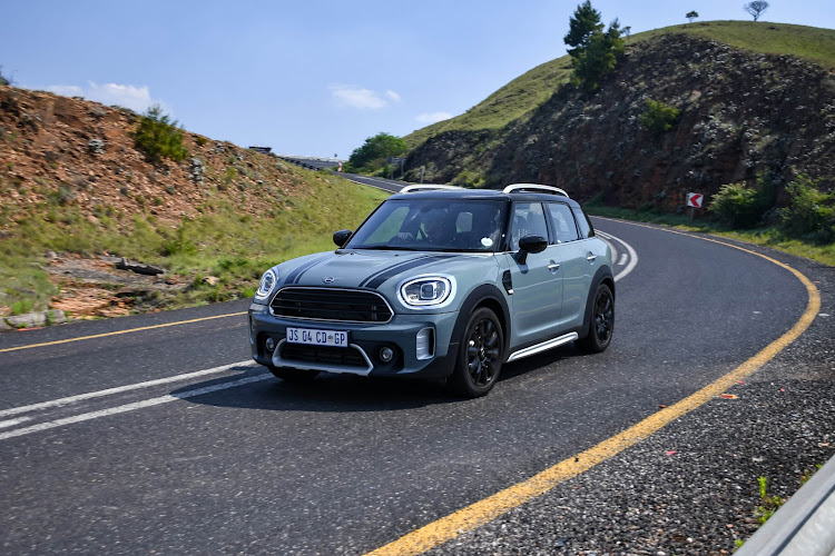 Frontal restyling and new design alloy wheels keep the 2020 MINI Countryman fresh in the high-end compact SUV niche.