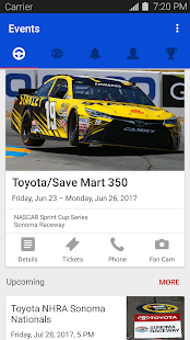 Sonoma Raceway - náhled