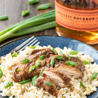Crock Pot Bourbon Chicken.