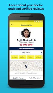 Zocdoc: Find & book a doctor Screenshot 4