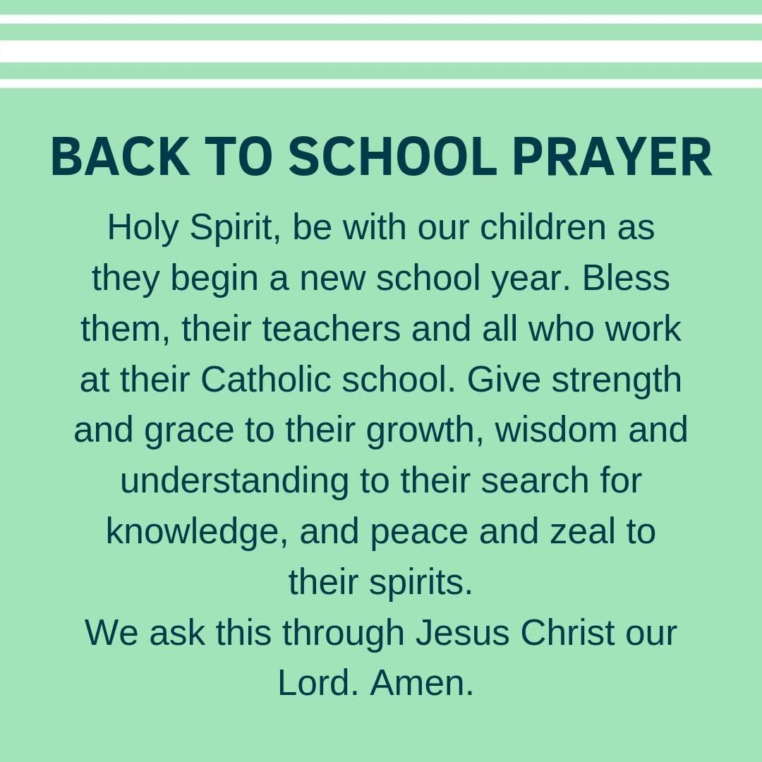 """CSCOE sur Twitter : """"While some of our Catholic schools started last week, most will start today! We're excited for the more than 21,000 Catholic school students returning from summer break. Our"""