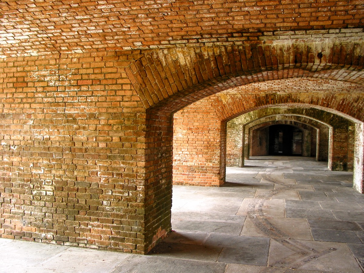Cannon Hall in Fort Jefferson