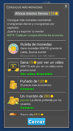 Crosswords - Spanish version (Crucigramas) apkpoly screenshots 10