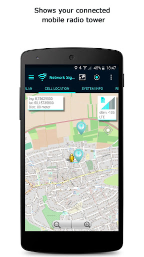 Screenshot for Network Signal Info Pro in United States Play Store
