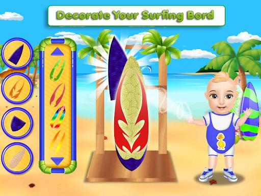 Crazy Summer Vacation - Beach Surfboard Activity 3.0 screenshots 2