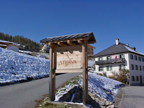 Photo: Stierva - Dorfeingang