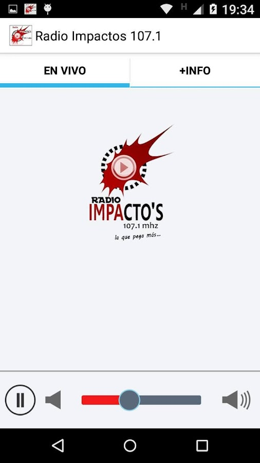 Radio Impactos 107.1- screenshot