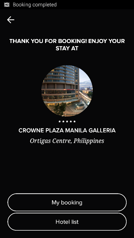 CROWNE PLAZA MANILA GALLERIA BOOKING VIA HOTELQUICKLY