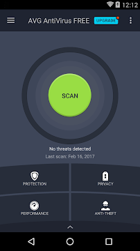 AVG AntiVirus FREE for Android Security 2017 - screenshot
