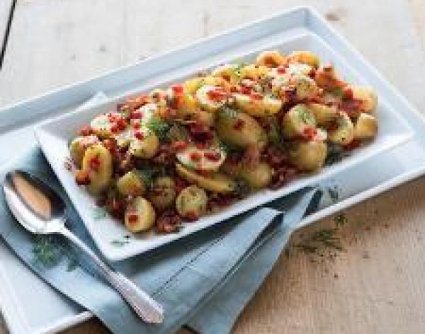 Warm Bacon-pimiento Potato Salad Recipe