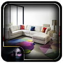 Modern Living Room Couch icon