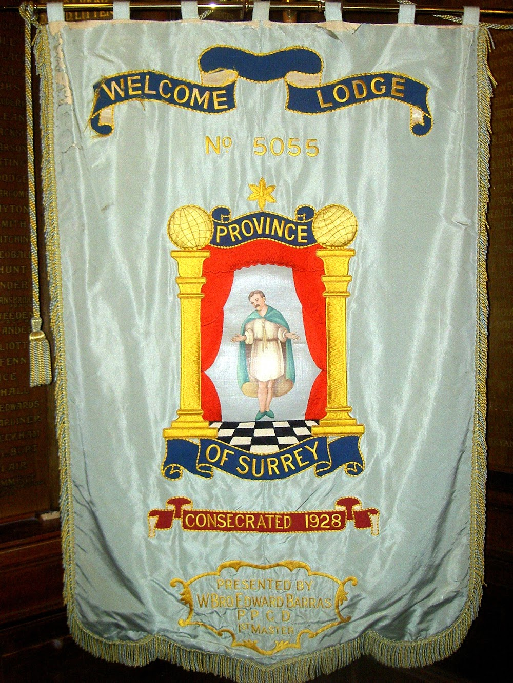 Original Welcome Lodge No.5055 Banner
