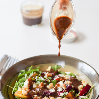 Awesome Colorful Arugula Beet Salad Recipe