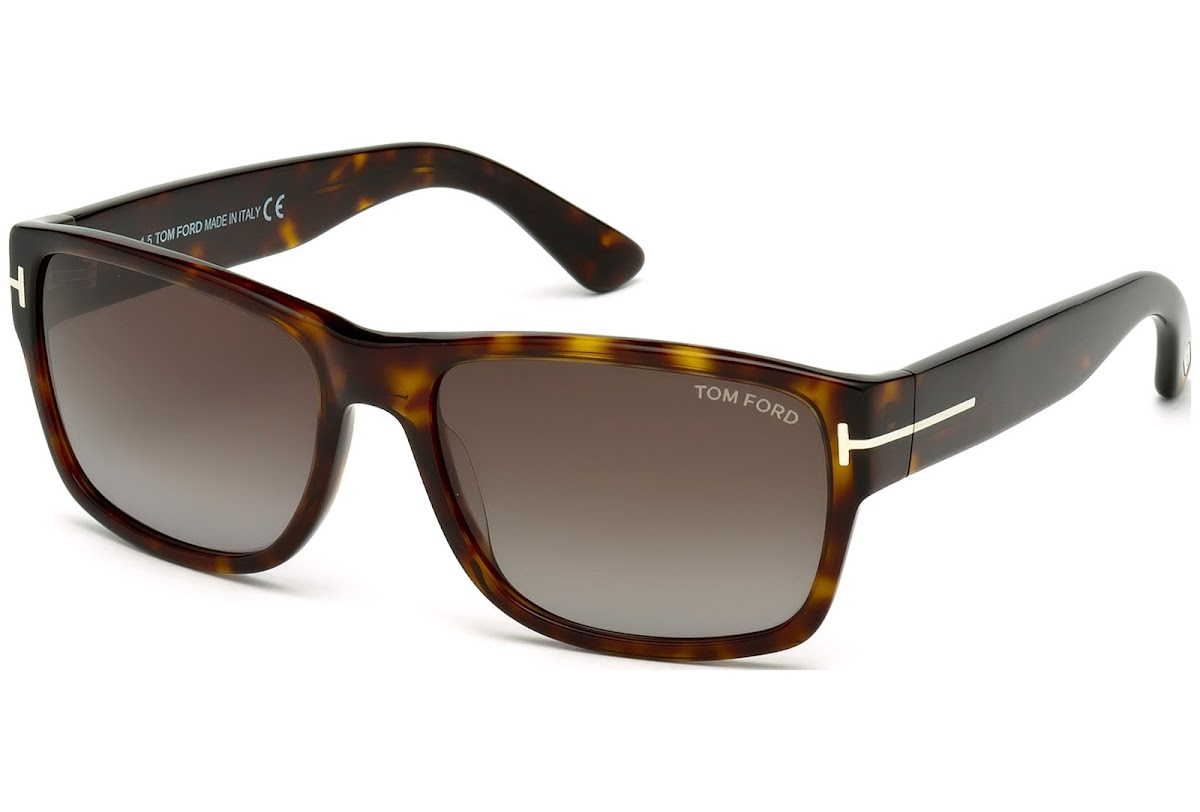 5be9ec5c316e Sunglasses Tom Ford Mason FT0445 C58 52B (dark havana   gradient smoke)