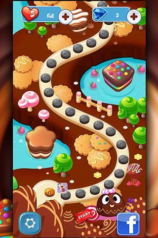 Choco Match Crush Mania screenshot 1