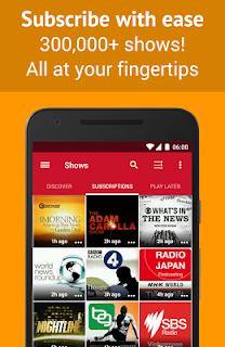 Podcast Player - Free screenshot 01